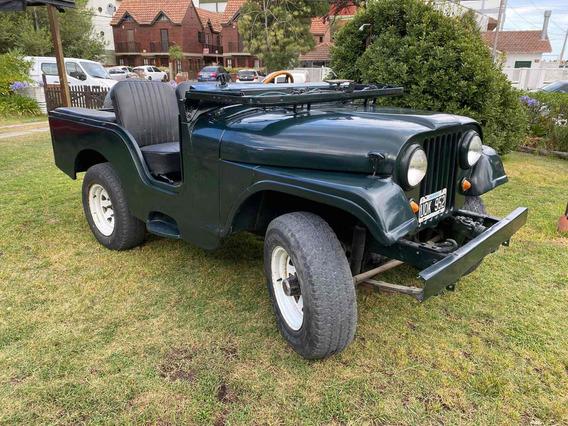 Jeep Ika 4x4 Original En Villa Gesell