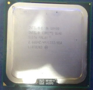 Intel Core 2 Quad Q8400 2.66 Ghz 4m 1333 775 Preço Imbatível
