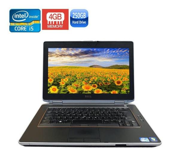 Notebook Dell E6420 Core I5-2520 4gb Hd250gb + Bateria Nova