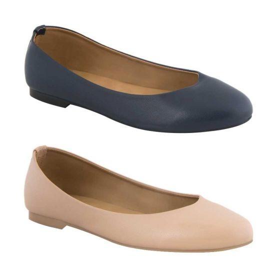 Kit De 2 Balerina Casual Pink By Price Shoes Rina San 820802