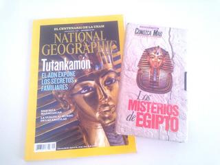 Lote Vhs Misterios Egipto + Revista Tutankamon Secretos
