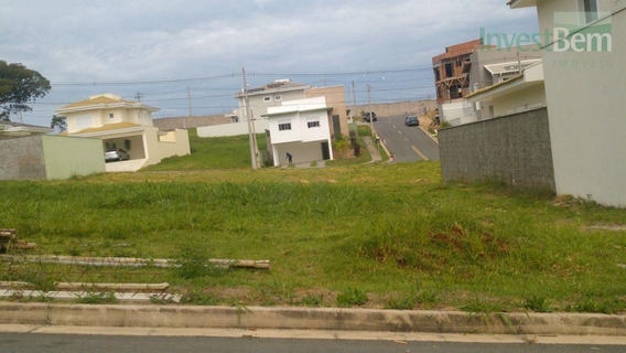 Terreno Residencial À Venda, Condomínio Residencial Portal Do Jequitiba , Valinhos. - Te0076