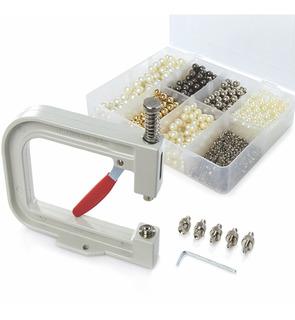 Maquina De Fijación Manual Para Perlas - Fijador De Piedras - Remachadora De Perlas