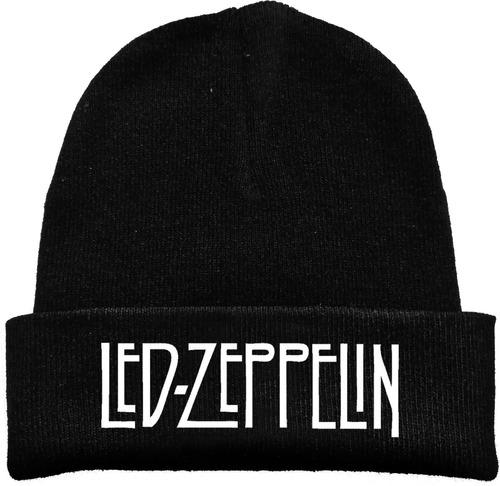 Gorro Lana Led Zeppelin Rock Metal Tv Estampado Urbanoz