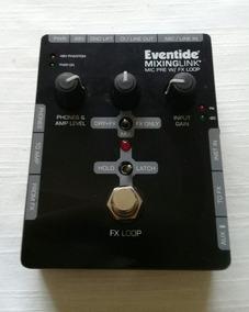 Pedal Eventide Mixinglink - Mic Pré Com Fx Loop
