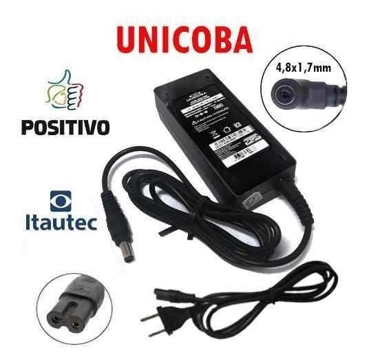 Carregador De Notebook P/ Itautec 19v 2,1a A7520 A7420
