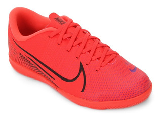 Tênis Futsal Infantil Nike Mercurial Vapor 13 Academy Cereja