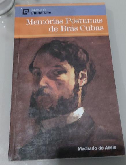 Livro Memórias Póstumass De Brás Cubas