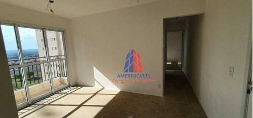 Imagem 1 de 28 de Apartamento Com 2 Dormitórios À Venda, 45 M² Por R$ 219.000,00 - Cariobinha - Americana/sp - Ap1571