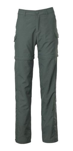 Pantalón Mujer Outdoor Desmontable Kannú 3 En 1