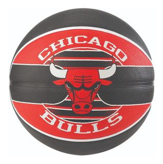 Bola De Basquete Spalding Nba Chicago Bulls + Bomba