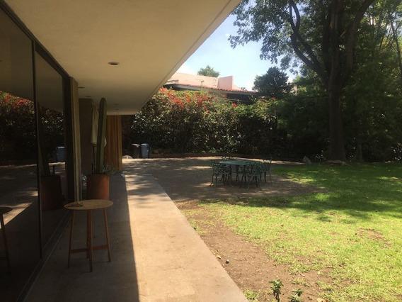 Renta Hermosa Residencia En Jardines Del Pedregal