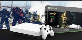Microsoft Xbox One X 1tb Blanca Edicion Fallout76