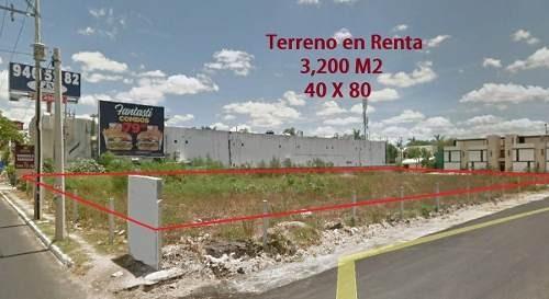 Terreno Comercial En Renta En Mérida, Yucatán