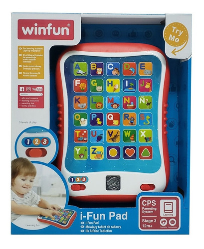 Tablet Divertida I-fun Pad C/ Actividades Winfun Tor 2271-34