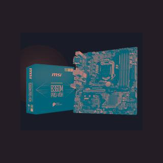 Motherboard Msi B360 Bazooka, 8va Gen, I7, 1151 Socket