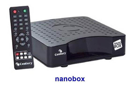 Receptor Analógico De Tv Nanobox Century Com Controle Remoto