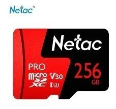 Cartão De Memória 256gb Micro Sd, Classe 10, 100 Mb/s, U3 Pronta Entrega