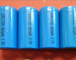 Kit De Bateria Icr17335 Recarregável Pra Pistola Taser