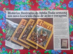 Histórias Ilustradas Da Bíblia 12 Volumes Ed. Abril Cultural