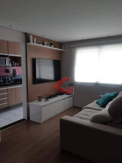 Apartamento Com 2 Dormitórios À Venda, 52 M² Por R$ 320.000 - Paulicéia - São Bernardo Do Campo/sp - Ap2718