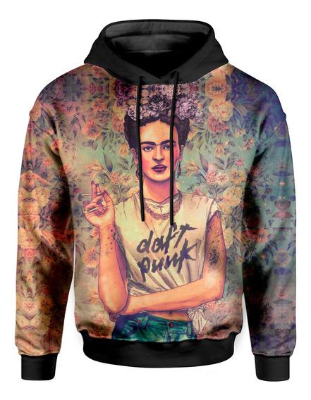 Moletom Com Capuz Unissex Frida Kahlo