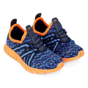 98c82a497f Tenis Klin Infantil Menino Baby Freedom Azul Sapato Menino