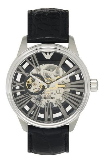 Relógio R001 Empório Armani Ar4629 Preto Automático + Caixa