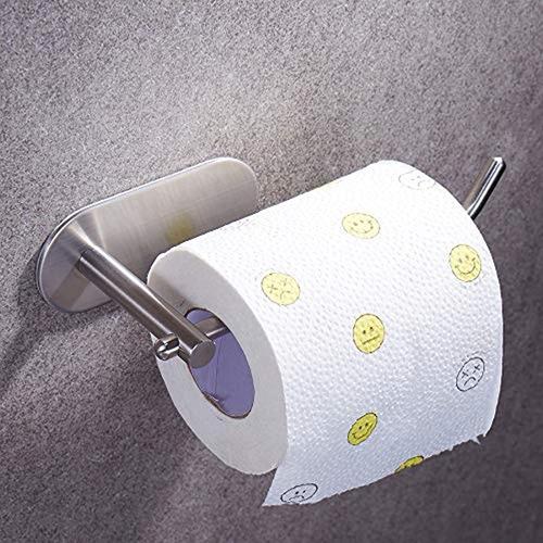 Imagen 1 de 7 de Portarrollos De Papel Higiénico Autoadhesivo, Para Baño