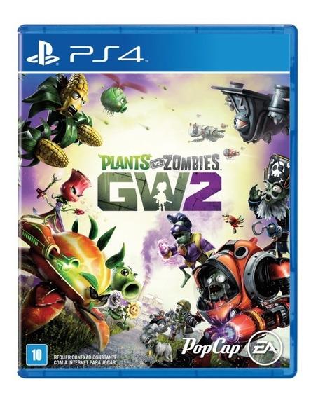 Plants Vs Zombies Garden Warfare 2 - Ps4 - Mídia Física Novo