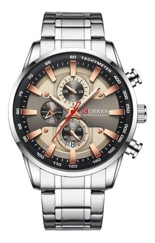 Reloj De Lujo Para Hombre Curren 8355 Cronógrafo Funcional