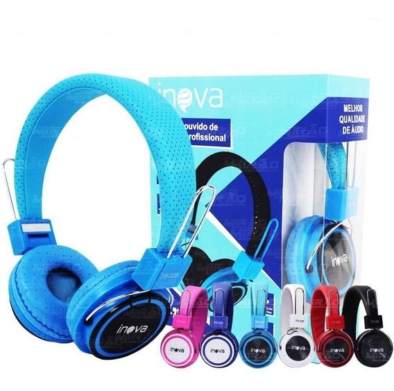 Fone Headphone Com Microfone Inova - Fon-2123d