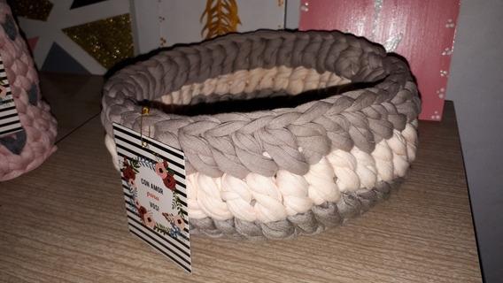 Canasta Tejida Crochet.