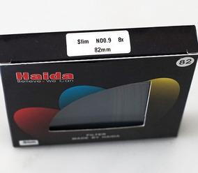 Filtro Para Fotografia Haida Slim Nd 0.9 - 8x - 82mm Novo