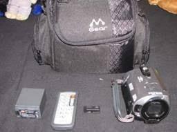 Filmadora Dcr-sr82 Sony Hdd 60gb