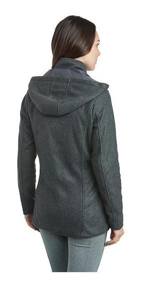 Abrigo Gris Marca Sahara Para Mujer Pr-3213982