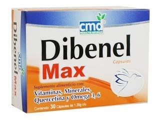 Vitaminas Dibenel Max C/ 30 Cáp...
