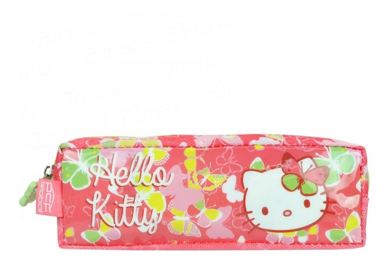 Estojo Hello Kitty Butterfly Pacific