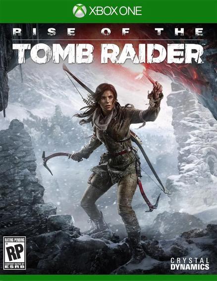 Jogo Xbox One Rise Of The Tomb Raider Novo