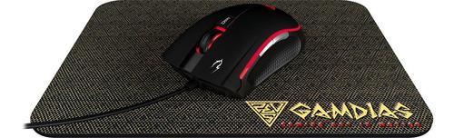 Imagem 1 de 7 de Kit Gamer Mouse Zeus M2 E1 + Mouse Pad Nyx E1 Gamdias