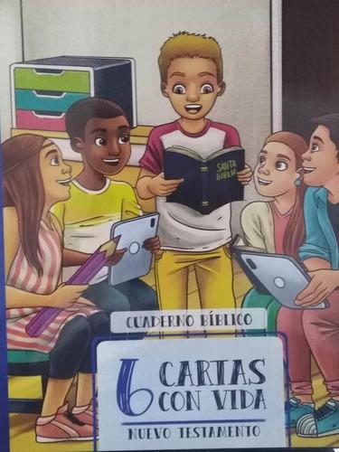 Imagen 1 de 2 de Cuaderno Bíblico 6 Nt Escuela Bíblica Para Niños Packs X 10