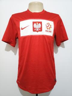 Camisa Futebol Oficial Seleção Polônia 2012 Away Nike P