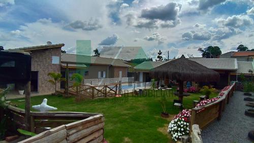 Linda Casa De Campo Em Pinhalzinho, Ideal Para Quem Busca Tranqüilidade E Segurança No Circuito Das Águas - Ch0322