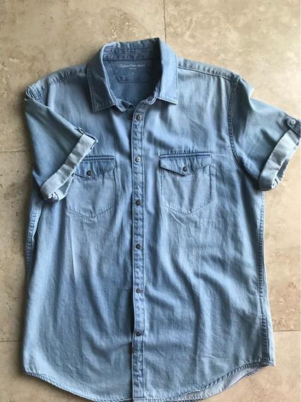 Playera De Mezclilla Calvin Klein Jeans