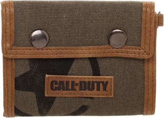 Billetera Edicion Call Of Duty Ww2 Verde