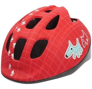 Capacete Infantil Bobike Bike Cachorro Vermelho Regulagem