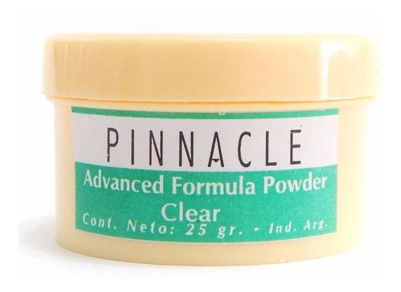 Pinnacle Advanced Formula Powder Clear Polvo Esculpir Uñas