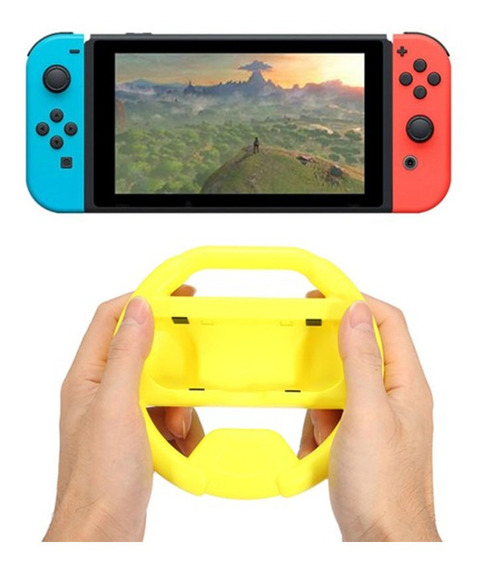 Novo Gaming Handle Volante Agarra Mão Para Nin Switch Contro