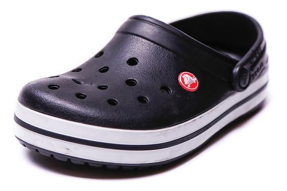 Zueco Crocs Crocband Negro