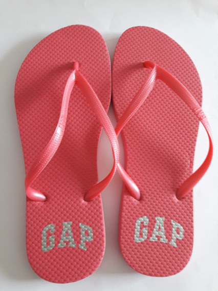 Chinelo Gap Rosa Pink 7-8 Usa